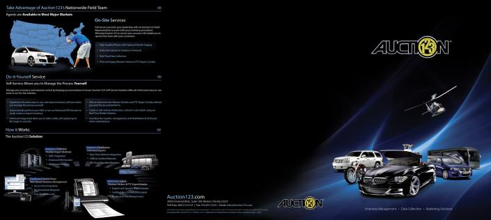 Auction 123 Brochure Front
