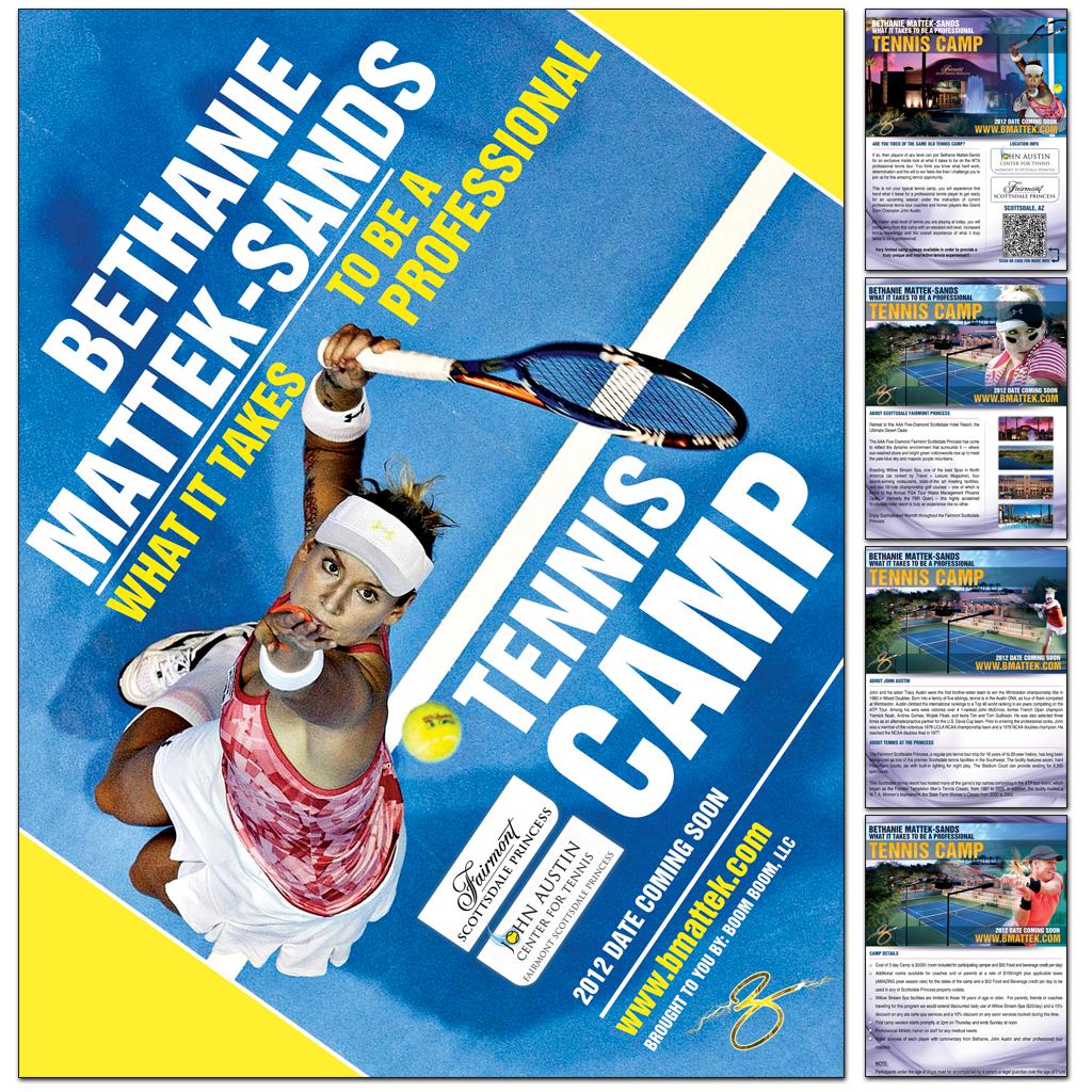 Bethanie Mattek Sands Tennis Camp Ad