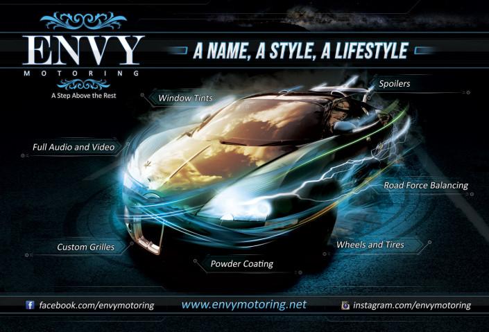 Envy Flyer Front