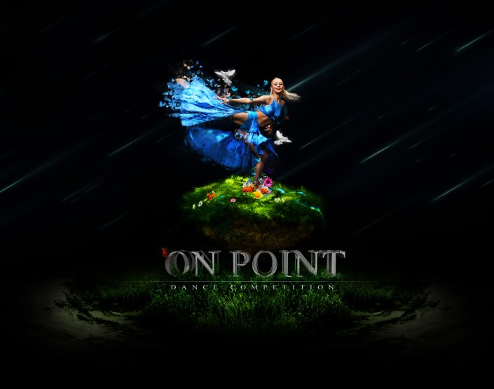 On Point Dance Competition Fantasy Photoshop piece