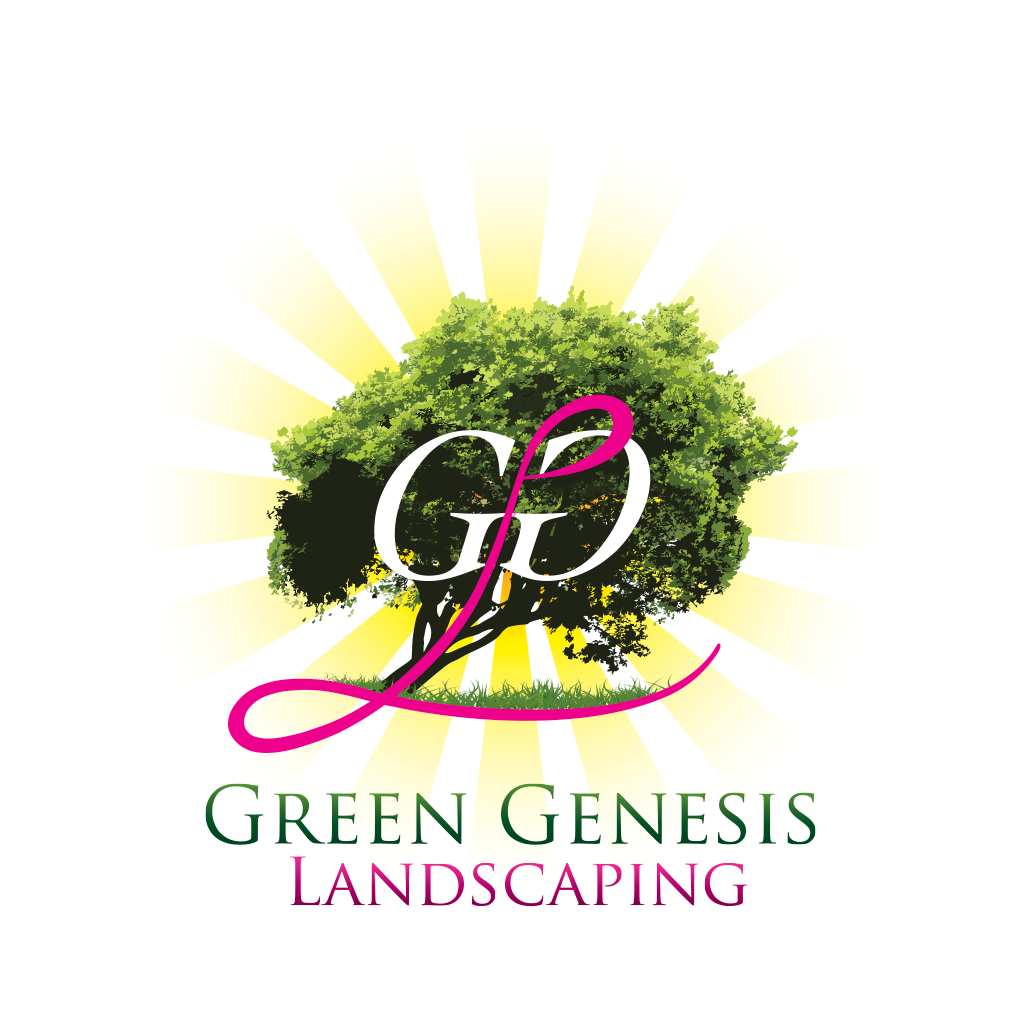 Green Genesis Landscaping Identity Design