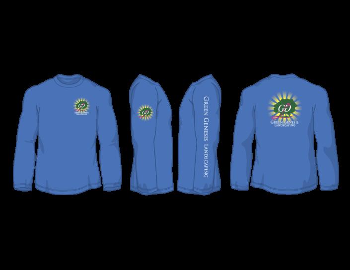 Green Genesis Landscaping Work Shirt