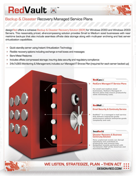 Red Vault Spec Sheet