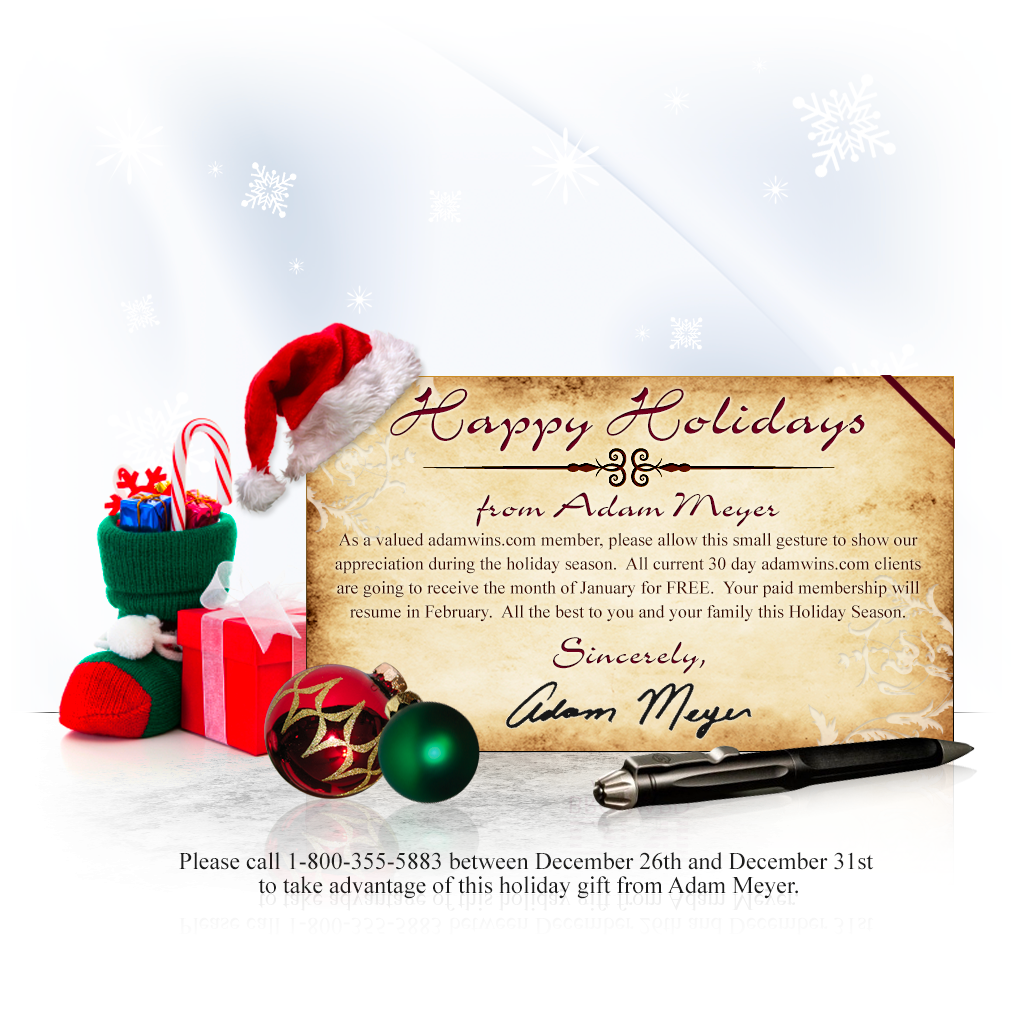 Real Money Sports Holiday Newsletter